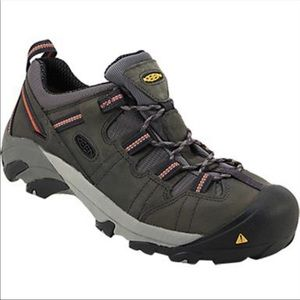KEEN Utility Men's Detroit Low Steel Toe Shoes 13